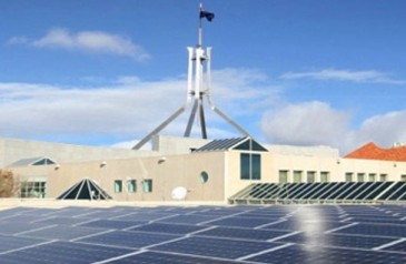 parliament house solar