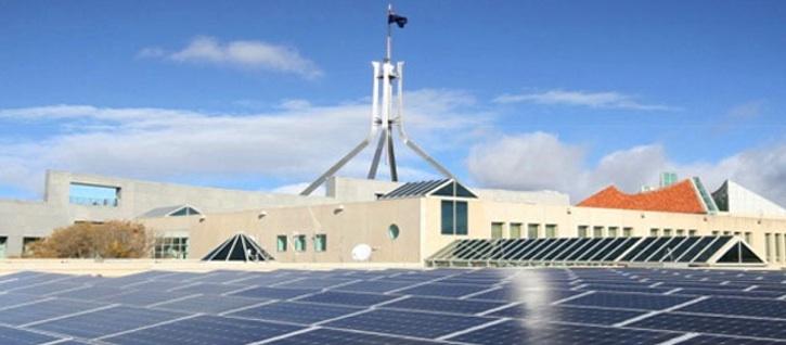 parliament house solar