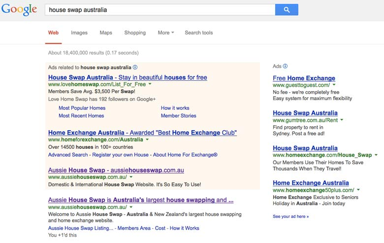 aussie_house_swap_search_results